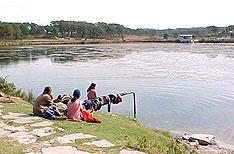 Thadlaskein Lake Shillong Travels Meghalaya